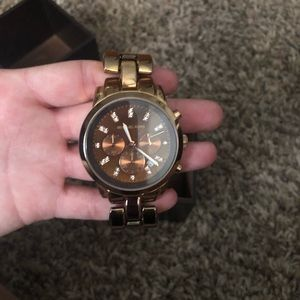Michael Kors watch with case